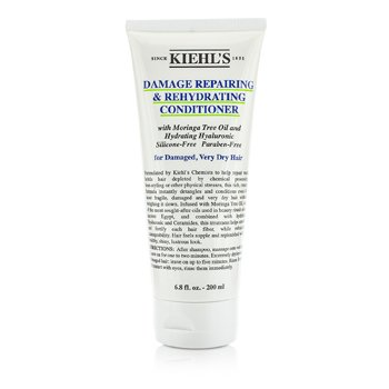 Kiehl's Damage Repairing & Rehydrating Conditioner (for skadet, veldig t�rt h�r)  200ml/6.8oz