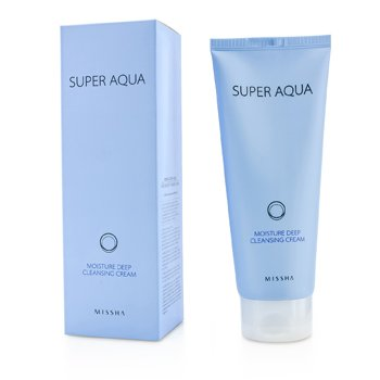 MisshaSuper Aqua Moisture Deep Cleansing Cream 200ml/6.7oz