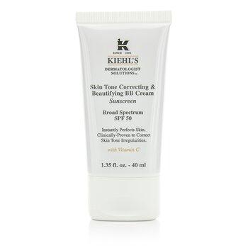 Kiehl's Skin Tone Correcting & Beautifying BB Cream SPF 50 - # Light - Krim BB  40ml/1.35oz