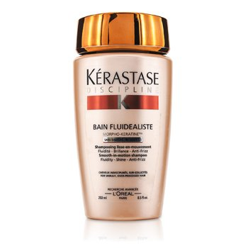 KerastaseDiscipline Bain Fluidealiste Smooth-In-Motion Sulfate Free Shampoo (For Unruly, Over-Processed Hair) 250ml/8.5oz