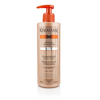 KerastaseDiscipline Protocole Hair Discipline Soin N2 Onar�c� Pro- Keratin Bak�m� (T�m Asi Sa�lar ��in) 400ml/13.52oz