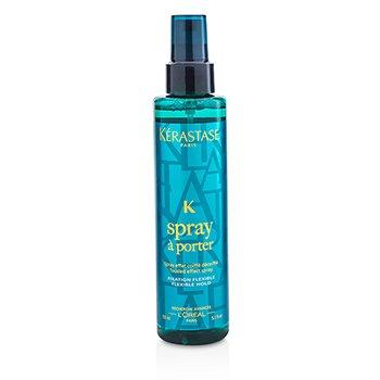 KerastaseStyling Spray A Porter Qar���q Effekt Sprey (Elastik Fiksasiya, Elastik Forma) 150ml/5.1oz