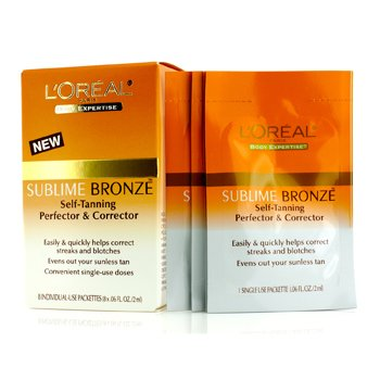 �ڵܶ� Sublime Bronze Self-Tanning Perfector & Corrector 8x2ml/0.06oz