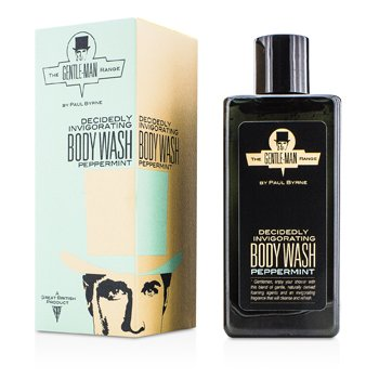 The Gentle-Man Range Decidely Invigorating Body Wash – Peppermint 300ml/10.1oz