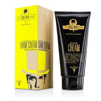 The Gentle-Man Range Aloe Sweet Cheeks Shave Cream – Lemongrass 175ml/5.9oz