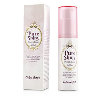 Shara Shara Pure Shiny Peach Makeup Base 30ml/1oz.