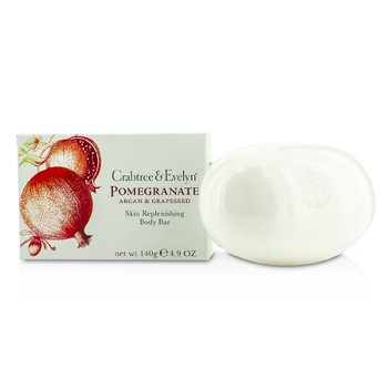 Crabtree & EvelynPomegranate, Argan & Grapeseed Skin Replenishing Body Bar 140g/4.9oz