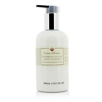 Crabtree & Evelyn Caribbean Island Wild Flowers Terapia Ultra Humectante de Manos  300ml/10.1oz