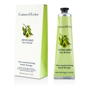 Crabtree & EvelynAvocado, Olive & Basil Terapia de Manos Ultra Humectante 50g/1.8oz