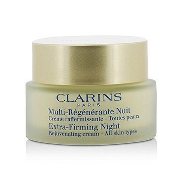 Clarins Extra-Firming Night Rejuvenating Cream - All Skin Types (Unboxed) 50ml/1.7oz