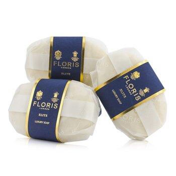 FlorisElite Luxury Soap 3x100g/3.5oz