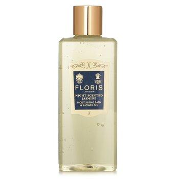 Floris Night Scented Jasmine Gel Humectante de Ba�o y Ducha  250ml/8.5oz