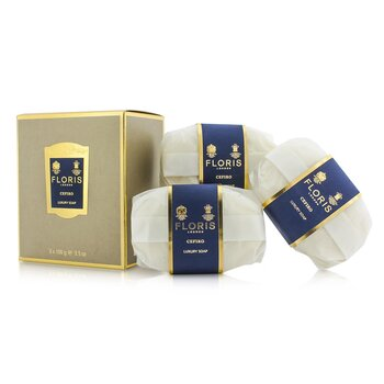FlorisCefiro Luxury Soap 3x100g/3.5oz