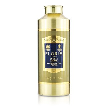 Floris Soulle Ambar Soothing Talcum Powder  100g/3.5oz