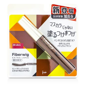 Dejavu Fiberwig Extra Long Mascara - Narural Brown 8.3g/0.27oz