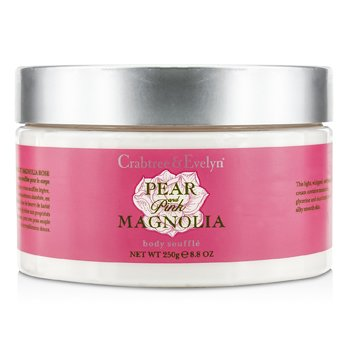 Crabtree & EvelynPear & Pink Magnolia Body Souffle 250g/8.8oz