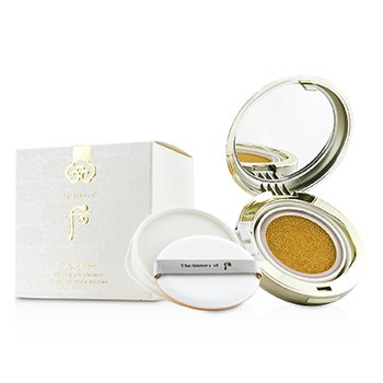 Whoo (The History Of Whoo) Gongjinhyang Seol Whitening & Moisture Glow Cushion Foundation SPF50 - #21 2x15g/0.5oz