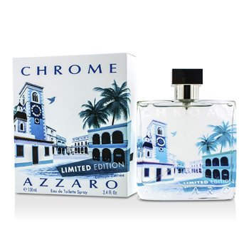 AzzaroChrome Eau De Toilette Spray (Edici�n Limitada 2014) 100ml/3.4oz