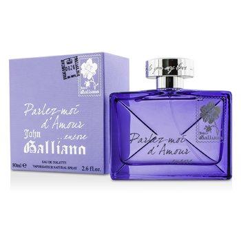 John Galliano Parlez-Moi D' Amour Encore Eau De Toilette Spray  80ml/2.6oz