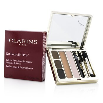 ClarinsKit Sourcils Pro Perfect Eyes & Brows Palette 5.2g/0.17oz