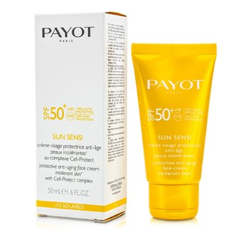 PayotLes Solaires Sun Sensi Protective Anti-Aging Face Cream SPF 50+ 50ml/1.6oz
