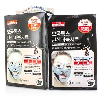 MedihealMogongtox Soda Bubble Sheet Mask 10pcs