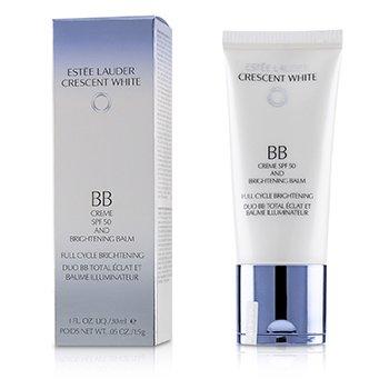 Estee LauderCrescent White Full Cycle Brightening BB Creme & Brightening Balm SPF 50/PA++++ 30ml/1oz