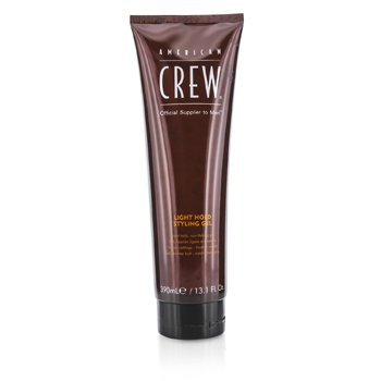 American Crew Men Light Hold Styling Gel (Non-Flaking Gel) 390ml/13.1oz hair care