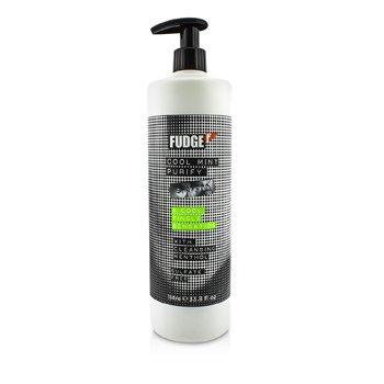 Fudge Cool Mint Purify Shampoo (A Cool Tingle Sensation)  1000ml/33.8oz