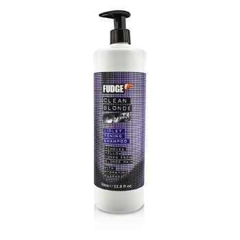 Fudge Clean Blonde Violet Toning Shampoo (Removes Yellow Tones From Blonde Hair) hair care
