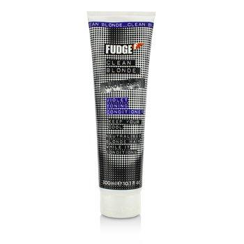 Fudge Clean Blonde Violet Toning Conditioner (Neutralises Blonde Hair)  300ml/10.1oz