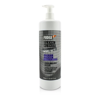 FudgeClean Blonde Violet Toning Conditioner (Neutralises Blonde Hair) 1000ml/33.8oz