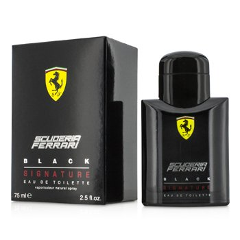 FerrariFerrari Scuderia Black Signature Eau De Toilette Spray 75ml/2.5oz