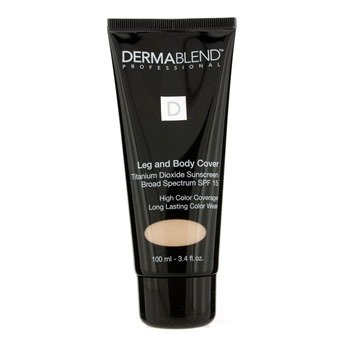 Dermablend Leg & Body Cover SPF 15 (Full Coverage & Long Wearability) - Natural  100ml/3.4oz