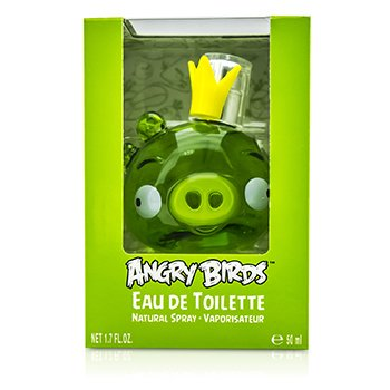 Air Val International Angry Birds King Pig (Green) Eau De Toilette Spray 50ml/1.7oz