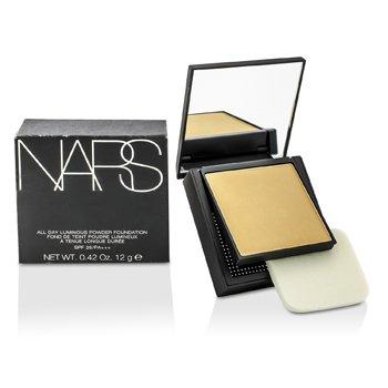 NARS All Day Base en Polvo Luminosa Con SPF25 - Deauville (Light 4 Clara con balance neutral de tonos amarillos y rosados)  12g/0.42oz