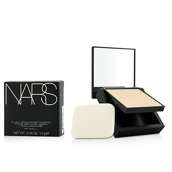 NARS All Day Base en Polvo Luminosa Con SPF25 - Siberia (Light 1 Clara con balance neutral de tonos amarillos y rosados)  12g/0.42oz