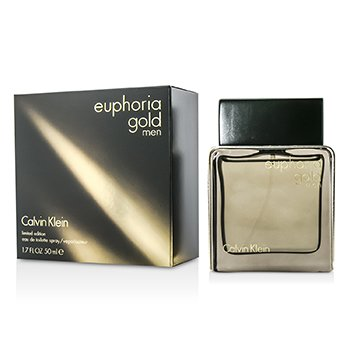 Calvin KleinEuphoria Gold Men Eau De Toilette Spray (Limited Edition) 50ml/1.7oz