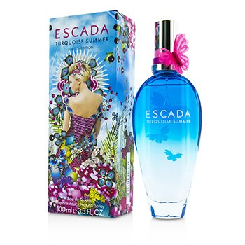 EscadaTurquoise Summer Eau De Toilette Spray (Limited Edition) 100ml/3.3oz