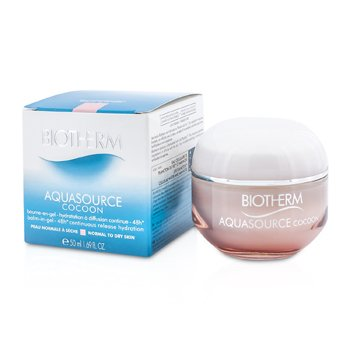 BiothermAquasource Cocoon Balm-In-Gel 48H Continuous Release Hydration (Normal to Dry Skin) 50ml/1.69oz