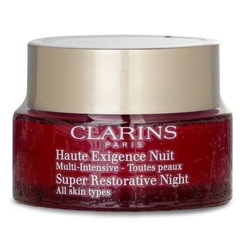 ClarinsSuper Restorative Night Age Spot Correcting Replenishing Cream 50ml/1.6oz