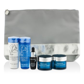 LancomePromotion Set: 2x Visionnaire Cream 15ml + Galateis Douceur 50ml + Tonique Douceur 50ml +  Concentrate 7ml + Bag 5pcs+1bag