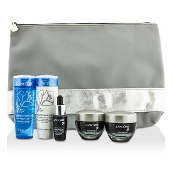 Lanc�mePromotion Set: 2x Genifique Cream 15ml + Galateis Douceur 50ml + Tonique Douceur 50ml + Concentrate 7ml + Bag 5pcs+1bag