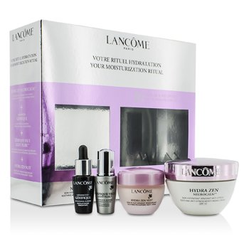 Lanc�meYour Moisturization Ritual: Moisturising Cream 50ml + Night Cream 15ml + Concentrate 7ml +  Eye-Illuminating 5ml 4pcs
