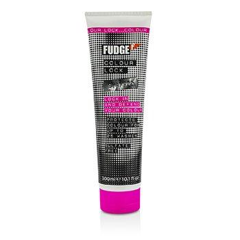 Fudge Colour Lock Shampoo - Sulfate Free (For Lasting Vibrancy & Colour Happy Hair)  300ml/10.1oz