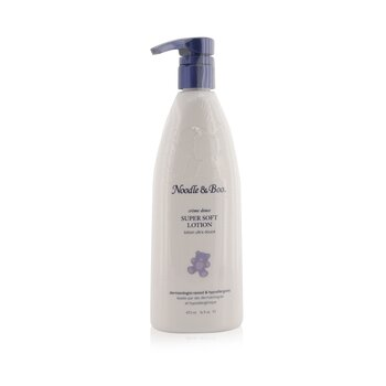 Noodle & BooSuper Soft Lotion - For Face & Body - Newborns & Babies With Sensiteive Skin 473ml/16oz