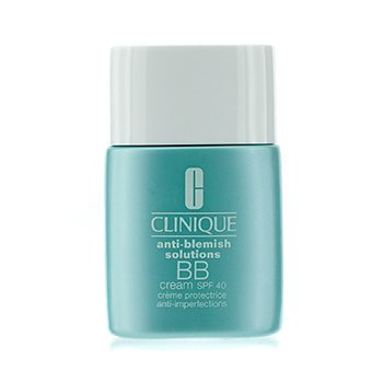 CliniqueAnti-Blemish Solutions BB Cream SPF 40 - Krim BB - Light Medium (Kombinasi Berminyak ke Berminyak) 30ml/1oz