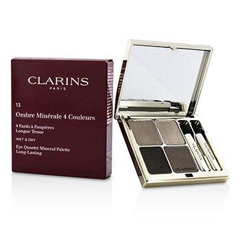 Clarins Eye Quartet Mineral Palette - # 13 Skin Tones  5.6g/0.1oz