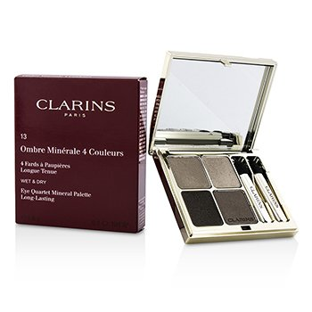 Clarins Paleta czterech cieni do powiek Eye Quartet Mineral Palette - # 13 Skin Tones  5.6g/0.1oz