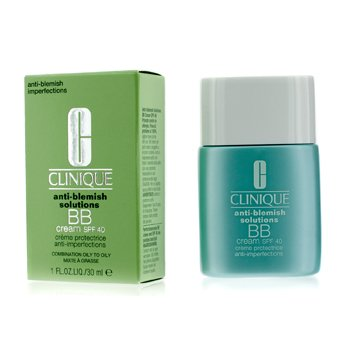 CliniqueAnti-Blemish Solutions Crema BB Con SPF 40 - Medium Deep (Mixta Grasa a Grasa) 30ml/1oz